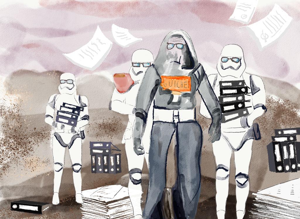 Bürokratie und Weltreise