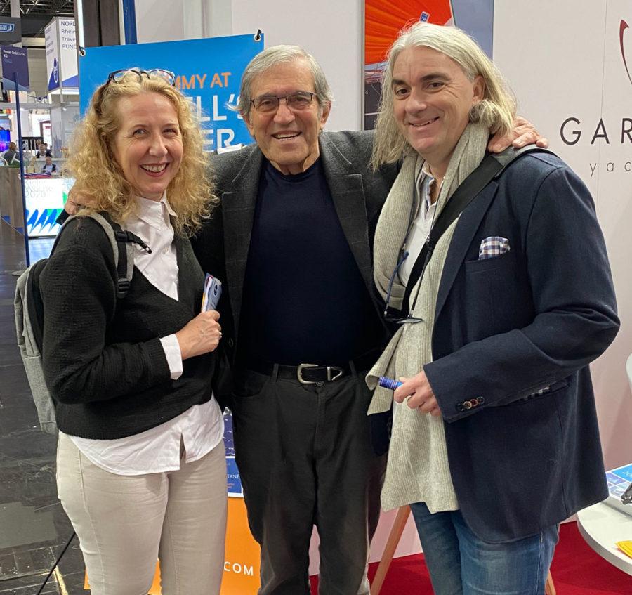 Karin Binz, Jimmy Cornell, Holger Binz